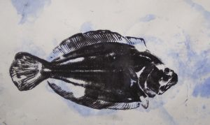 Fish Anatomy (Gyotaku Fish Printing) @ Museum of Coastal Carolina