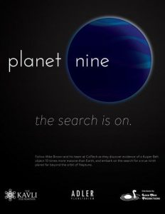 Postponed - TBD - Planet Nine @ Ingram Planetarium