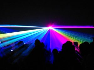 Laser Light Show: U2 @ Ingram Planetarium